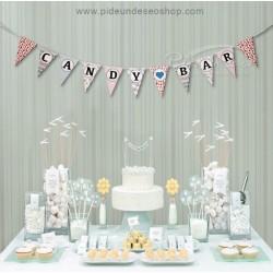 Banderas candy bar