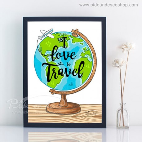 lamina I love to travel